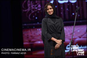 پریناز ایزدیار در بیستمین جشن خانه سینمای ایران