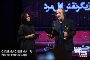 امین تارخ و پریناز ایزدیار در بیستمین جشن خانه سینمای ایران