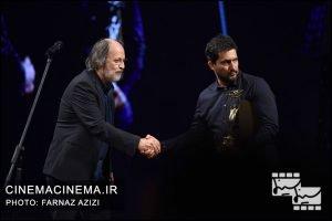 حامد بهداد و امین تارخ در بیستمین جشن خانه سینمای ایران