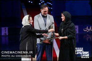 غزل شاکری، حسن فتحی و نگار جواهریان در بیستمین جشن خانه سینما