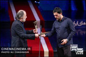 حامد بهداد و امین تارخ در بیستمین جشن خانه سینما