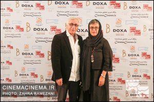 رویا تیموریان و مسعود رایگان در نخستین دوره جایزه آکادمی سینماسینما