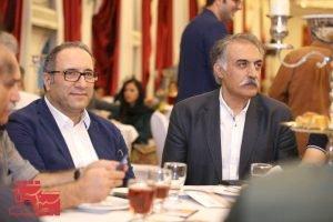 علیرضا شجاع نوری و رضا میرکریمی در نخستین دوره جایزه آکادمی سینماسینما