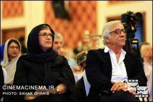 مسعود رایگان و رویا تیموریان در نخستین دوره جایزه آکادمی سینماسینما