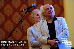 سیروس الوند سیامک شایقی در نخستین دوره جایزه آکادمی سینماسینما