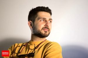 """محمدرضا غفاری در اکران فیلم """"جاده قدیم"""" در اراک"""