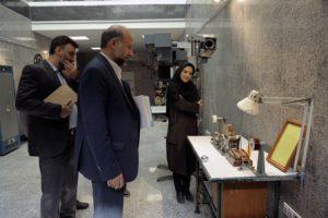 بازدید حیدریان از فیلمخانه ایران