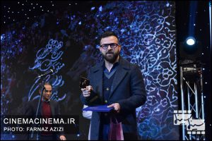 هومن سیدی در دوازدهمین جشن منتقدان و نویسندگان سینما