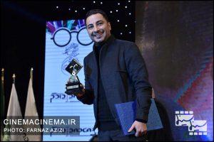 نوید محمدزاده در دوازدهمین جشن منتقدان و نویسندگان سینما