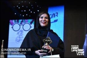 سحر دولتشاهی در دوازدهمین جشن منتقدان و نویسندگان سینما