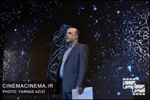 جعفر گودرزی در دوازدهمین جشن منتقدان و نویسندگان سینما