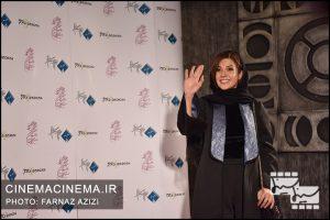 سارا بهرامی در دوازدهمین جشن منتقدان و نویسندگان سینما
