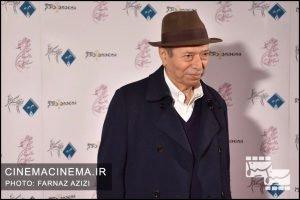 علی نصیریان در دوازدهمین جشن منتقدان و نویسندگان سینما