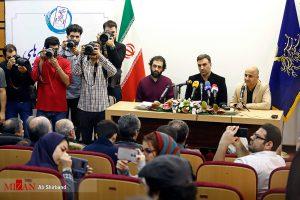 مراسم معرفی فیلمهای سینمایی بخش «سودای سیمرغ» سی و هفتمین جشنواره فیلم فجر