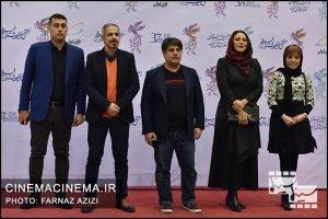 چهره های حاضر در فرش قرمز افتتاحیه فیلم فجر