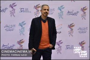 سید جواد رضویان در فرش قرمز افتتاحیه فیلم فجر