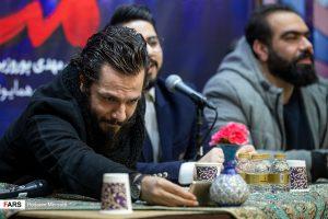 عباس غزالی در نشست خبری سریال مینو