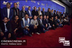 عوامل فیلم «۲۳ نفر» در هفتمین روز سیوهفتمین جشنواره فیلم فجر