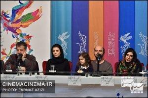 عوامل فیلم «مردی بدون سایه» در ششمین روز سیوهفتمین جشنواره فیلم فجر