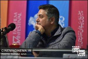 نشست رسانهای فیلم «دیدن این فیلم جرم است» در هفتمین روز سیوهفتمین جشنواره فیلم فجر