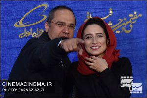نگار جواهریان و رامبد جوان در پنجمین روز سیوهفتمین جشنواره فیلم فجر
