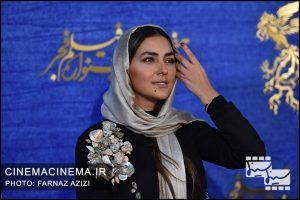 هدی زین العابدین در پنجمین روز سیوهفتمین جشنواره فیلم فجر