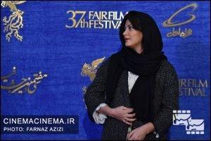 طناز طباطبایی در پنجمین روز سیوهفتمین جشنواره فیلم فجر