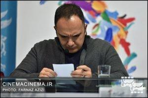 احسان کرمی در چهارمین روز سیوهفتمین جشنواره فیلم فجر
