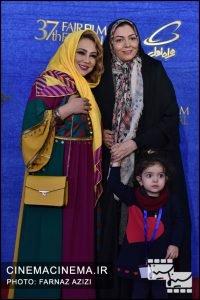 آزاده نامداری و بهنوش بختیاری در پنجمین روز سیوهفتمین جشنواره فیلم فجر