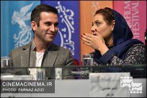 شبنم مقدمی و هوتن شکیبا در پنجمین روز سیوهفتمین جشنواره فیلم فجر