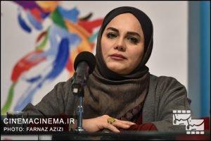 نرگس آبیار در پنجمین روز سیوهفتمین جشنواره فیلم فجر