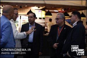 بازدید حسین انتظامی، معاون سینمایی وزیر فرهنگ و ارشاد اسلامی از سیوهفتمین جشنواره جهانی فیلم فجر