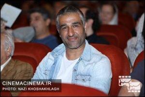 پژمان جمشیدی در افتتاحیه فیلم ما همه باهم هستیم