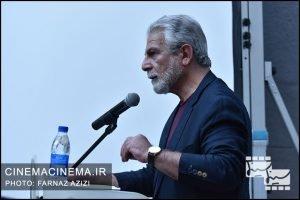منوچهر شاهسواری در جشن زادروز عباس کیارستمی