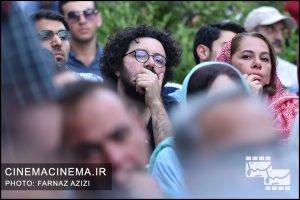 هومن بهمنش در جشن زادروز عباس کیارستمی