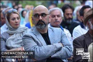 حبیب رضایی در جشن زادروز عباس کیارستمی