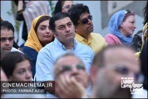 کیوان کثیریان در جشن زادروز عباس کیارستمی