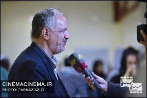 احمد مسجدجامعی در آیین نکوداشت جمشید مشایخی