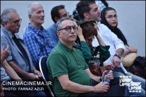 فرهاد توحیدی در جشن زادروز عباس کیارستمی