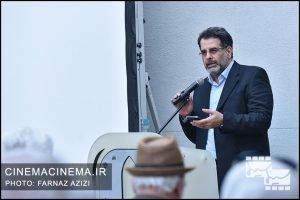 محسن امیریوسفی در جشن زادروز عباس کیارستمی