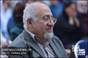 محمدجواد حق شناس در جشن زادروز عباس کیارستمی