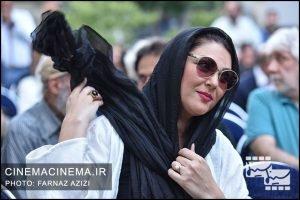 لاله اسکندری در جشن زادروز عباس کیارستمی