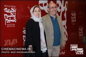 کمال تبریزی در افتتاحیه فیلم ما همه باهم هستیم
