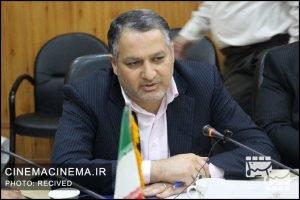 علیرضا تابش در بازدید مدیران سینمایی از پژوهشگاه رویان