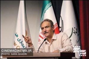جهانگیر الماسی در شب مجید قاریزاده