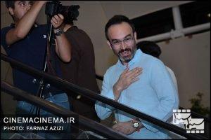 محمدرضا مقدسیان در اکران خصوصی فیلم سرکوب