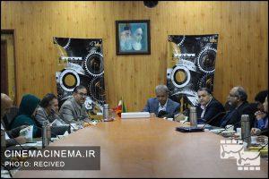 بازدید مدیران سینمایی از پژوهشگاه رویان