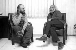 رضا عطاران و کیانوش عیاری