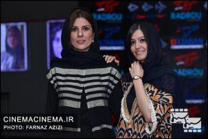 پردیس احمدیه و سارا بهرامی در اکران خصوصی فیلم سرکوب