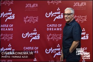 مسعود رایگان در اکران خصوصی فیلم «قصر شیرین»